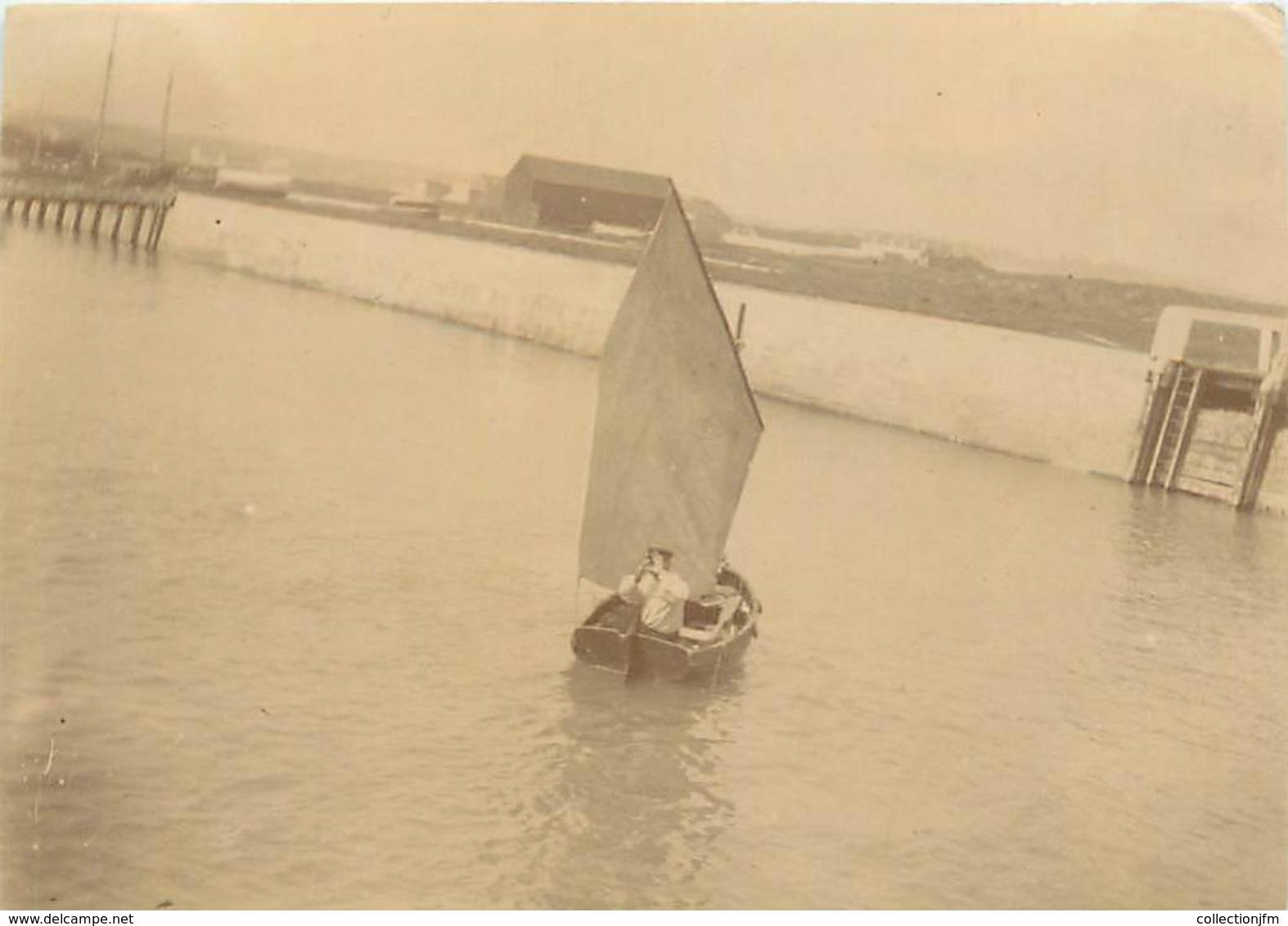 """PHOTO ORIGINALE FRANCE 14 """"Courseulles, 1902"""" - Lieux"""