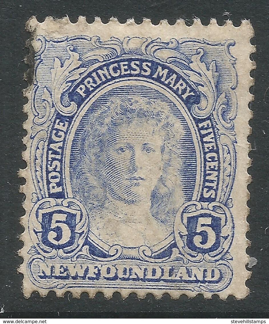 Newfoundland. 1911-16 Coronation. 5c Used SG 121 - 1908-1947