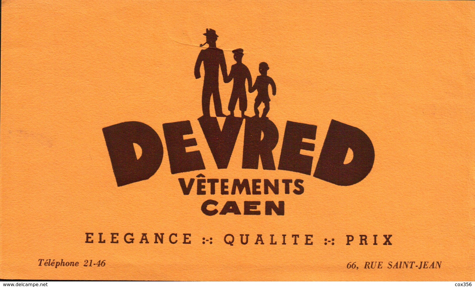 Ancien BUVARD Illustré DEVRED - S
