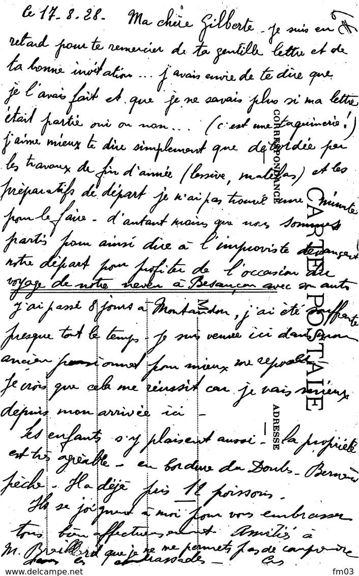 Pontarlier Pensionnat Des Augustins - Pontarlier