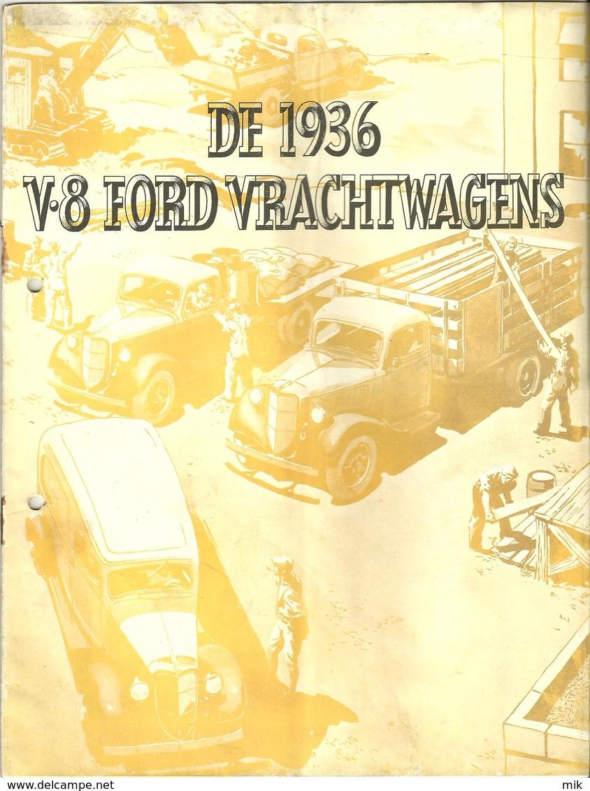 Revue En Neerlandais !!! Sur Camion Ford De 1936 - Praktisch