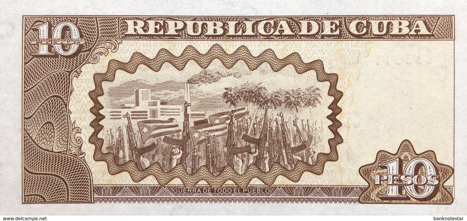 Cuba 10 Pesos, P-117g (2004) - UNC - Scarce Date - Cuba