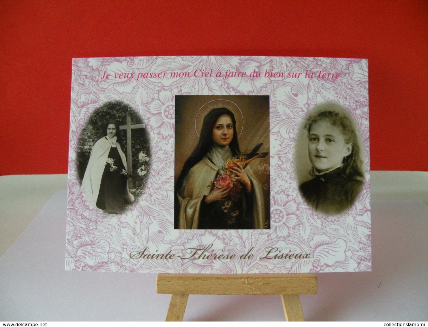 Sainte Thérèse De Lisieux (14 Calvados) - Non Circulé - Santi