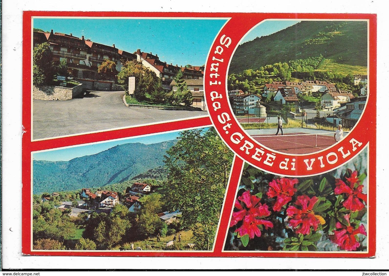 St. Gréé Di Viola (CN) - Viaggiata - Italia