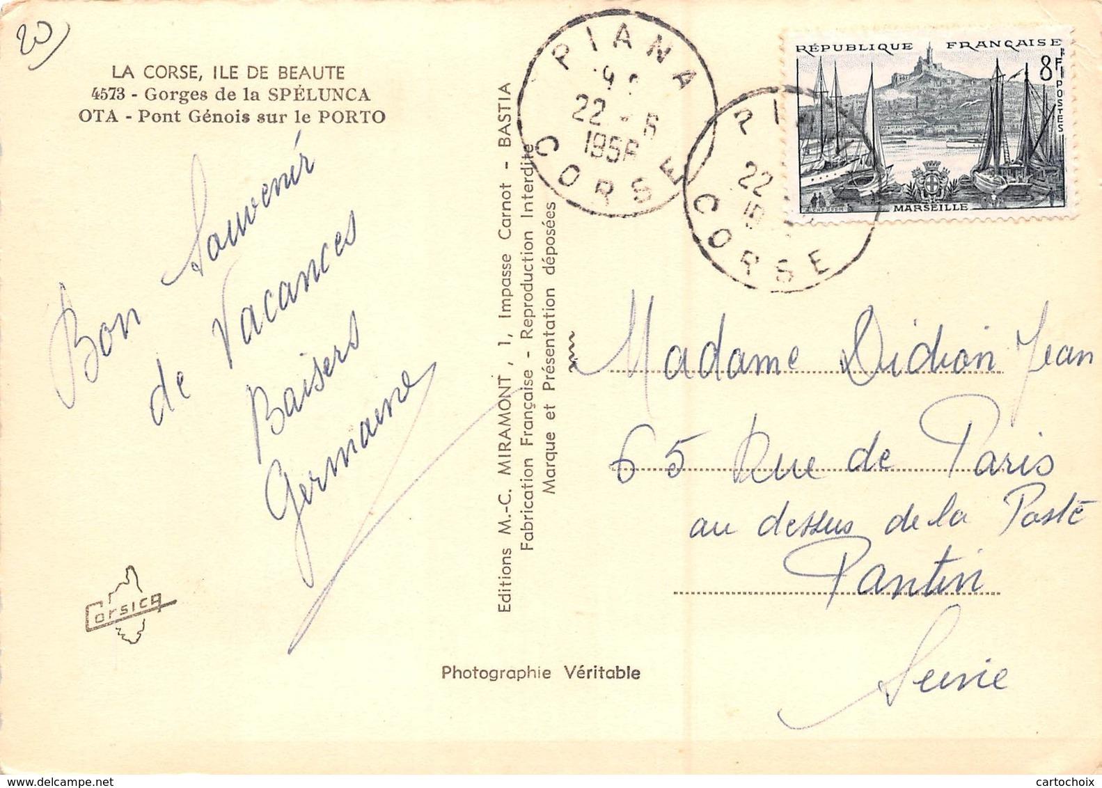 20 - Ota - Beau Plan Du Pont Génois - France