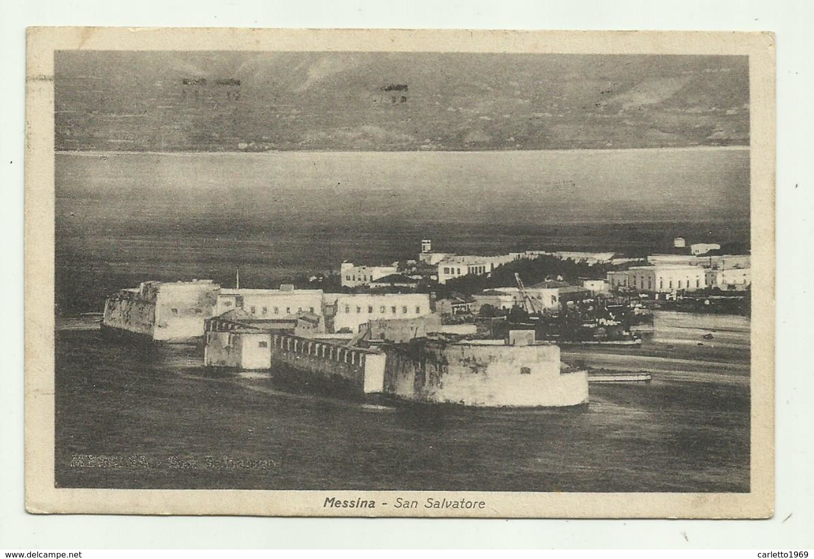 MESSINA - SAN SALVATORE  VIAGGIATA FP - Messina