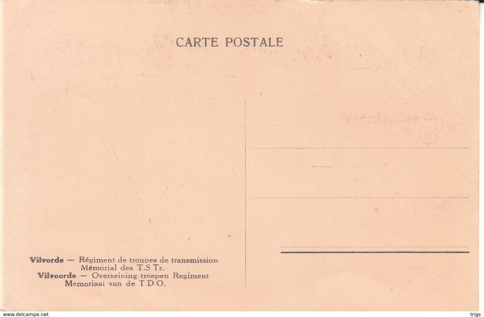 Vilvorde - Régiment De Troupes De Transmission, Mémorial Des T. S. Tr. - Vilvoorde
