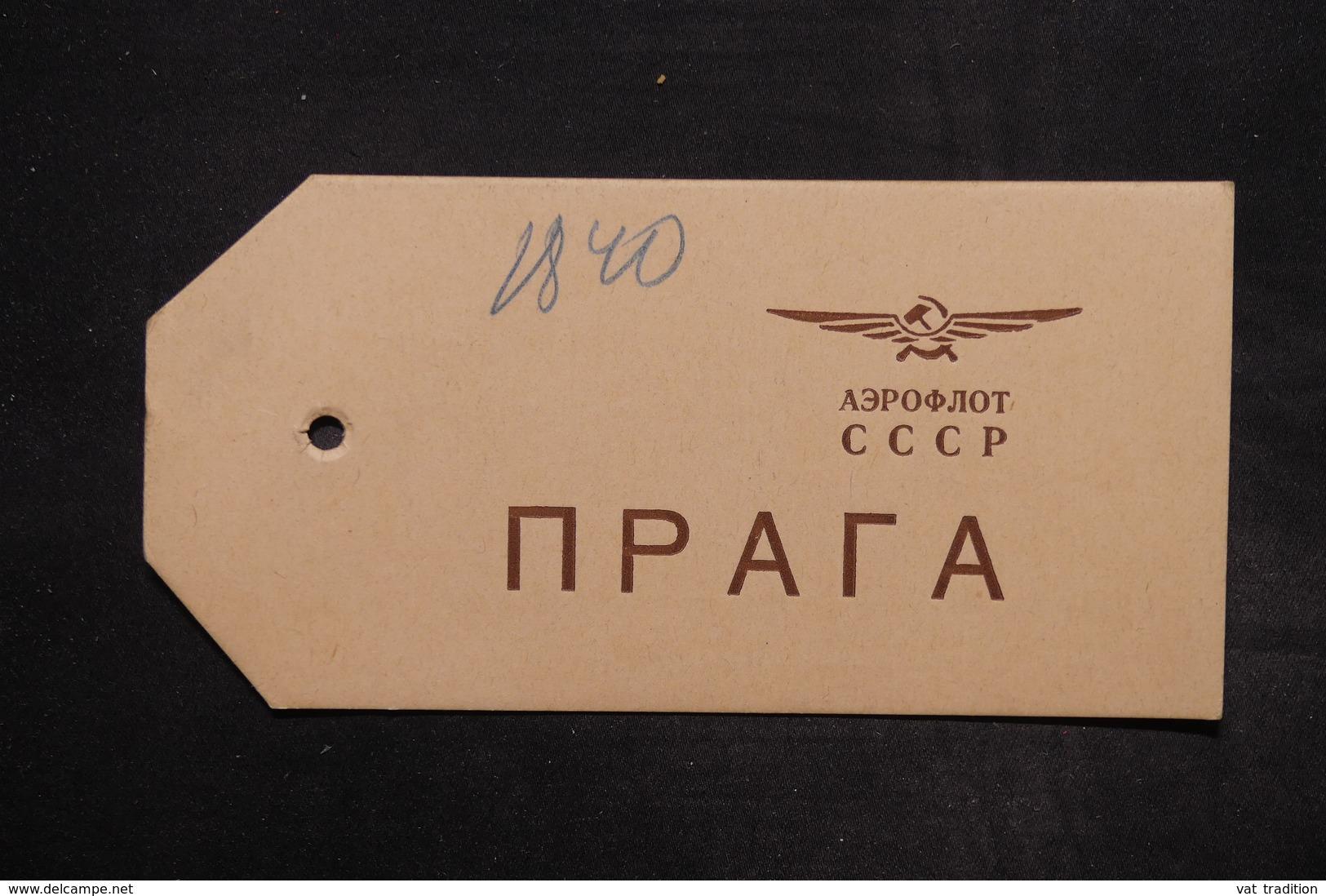 U.R.S.S. - Étiquette De Colis Par Avion - L 27144 - 1923-1991 USSR