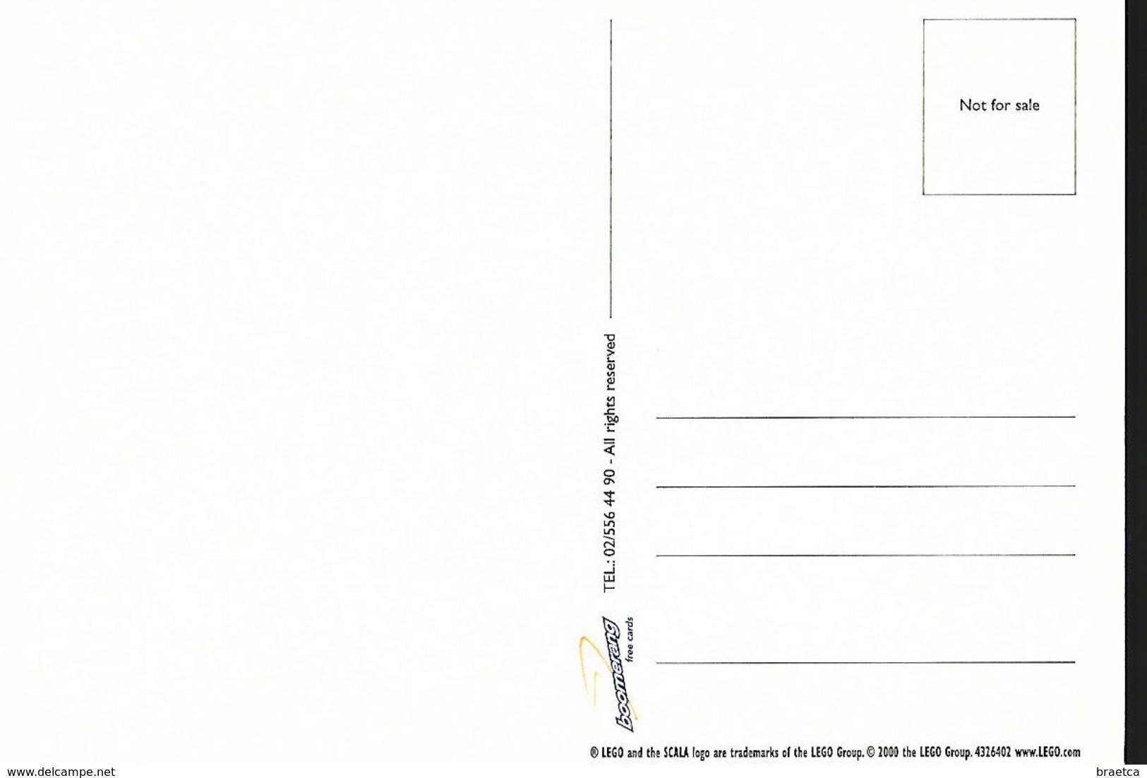 Carte Boomerang  - Lego - Publicité