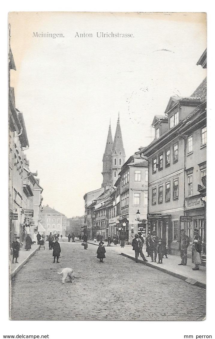 (23835-00) Allemagne - Meiningen - Anton Ulrichstrasse - Meiningen