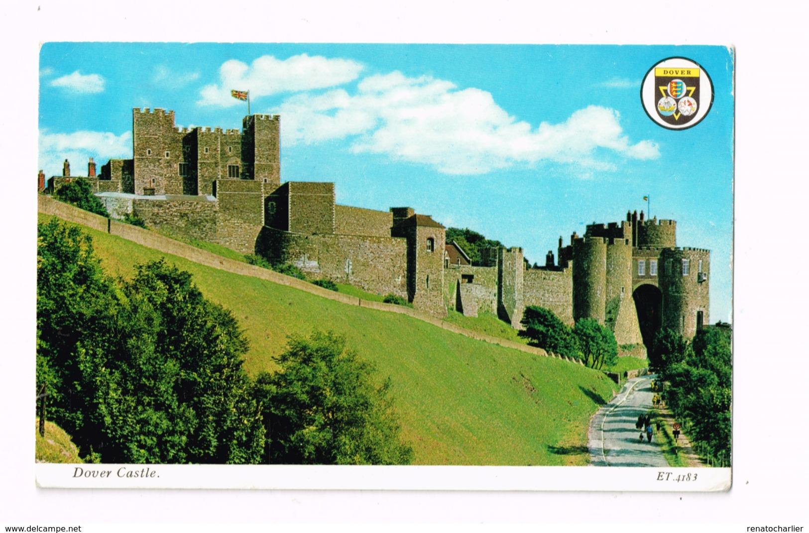 Dover Castle.Expédié à Antwerpen (Belgique) - Dover