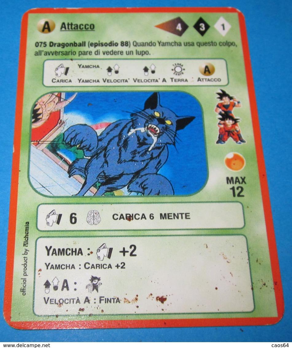 DRAGON BALL ALCHEMIA CARDS ITALY 075 - Dragonball Z