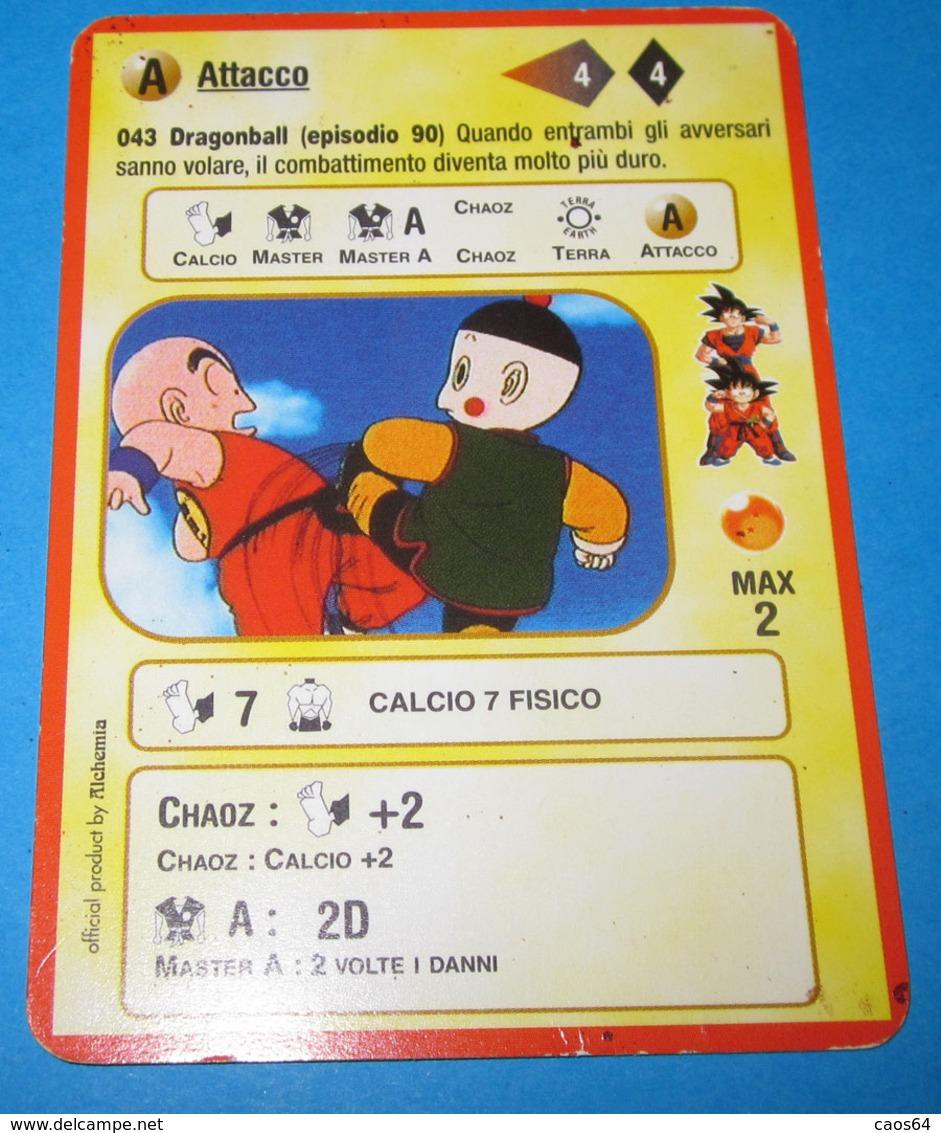 DRAGON BALL ALCHEMIA CARDS ITALY 043 - Dragonball Z