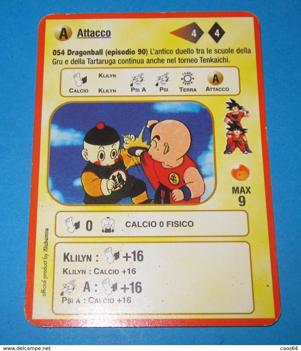 DRAGON BALL ALCHEMIA CARDS ITALY 054 - Dragonball Z