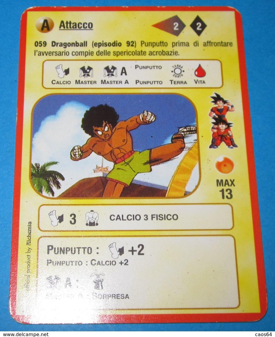 DRAGON BALL ALCHEMIA CARDS ITALY 059 - Dragonball Z