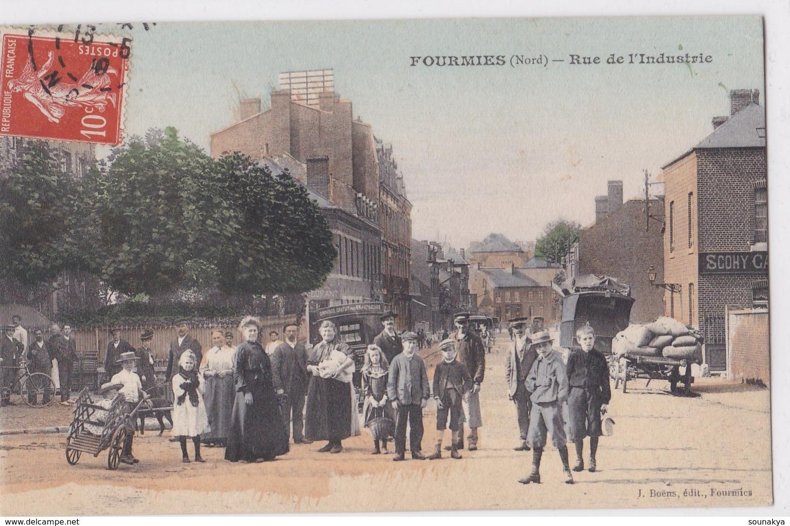 FOURMIES // Rue De L' Industrie - Fourmies