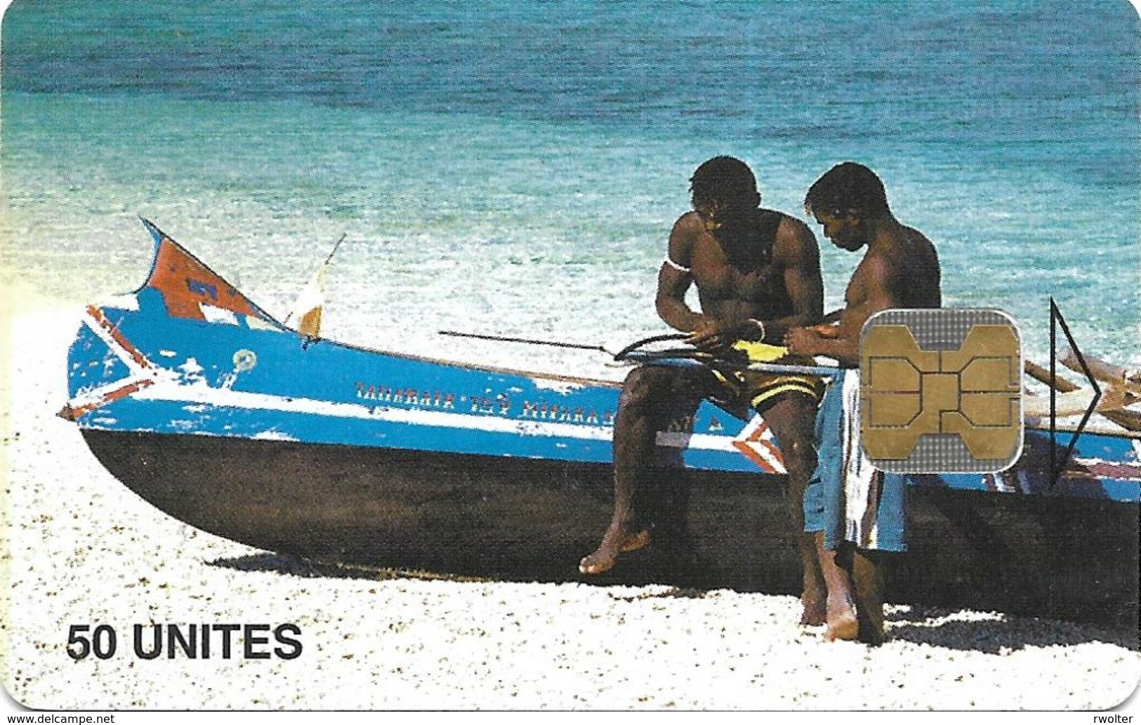 @+ TC De Madagascar : Fishermen 2 -  OB - 100 000ex ( Ref : MDG-35) - Madagascar