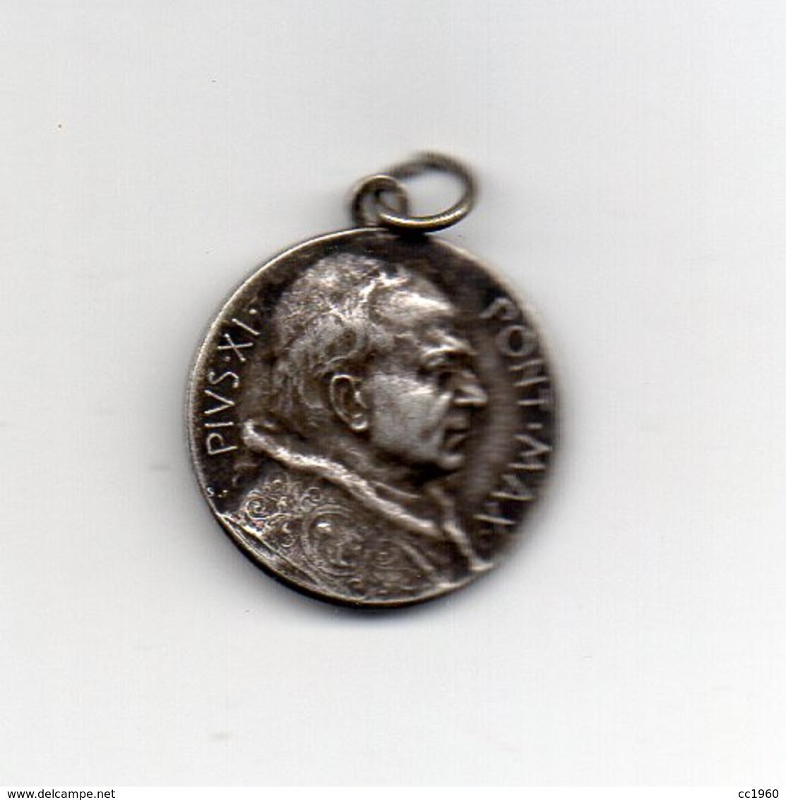 Vaticano - 1925 - Medaglia Papa Pio XI° - Anno Giubilare - Argento - Vedi Foto - (MW2125) - Altri