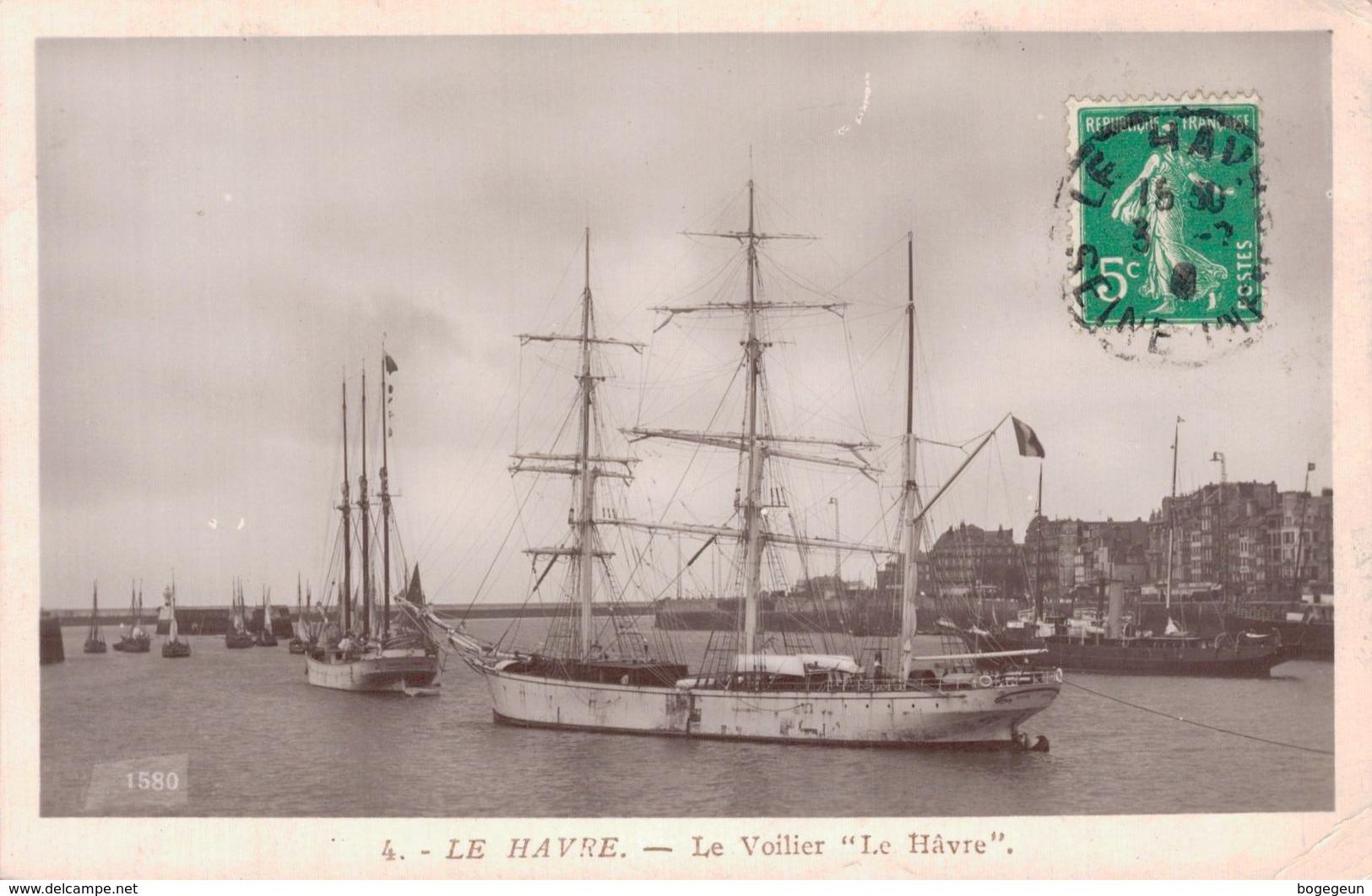 76 4 LE HAVRE Le Voilier Le Havre - Harbour