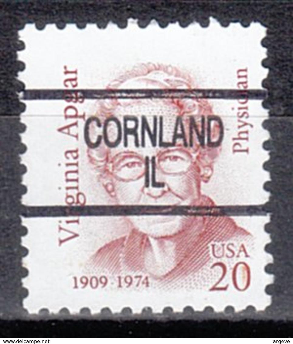 USA Precancel Vorausentwertung Preo, Locals Illinois, Cornland 904 - Vereinigte Staaten
