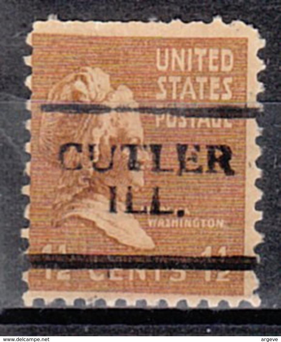 USA Precancel Vorausentwertung Preo, Locals Illinois, Cutler 701. Perf. Not Perfect - Vereinigte Staaten