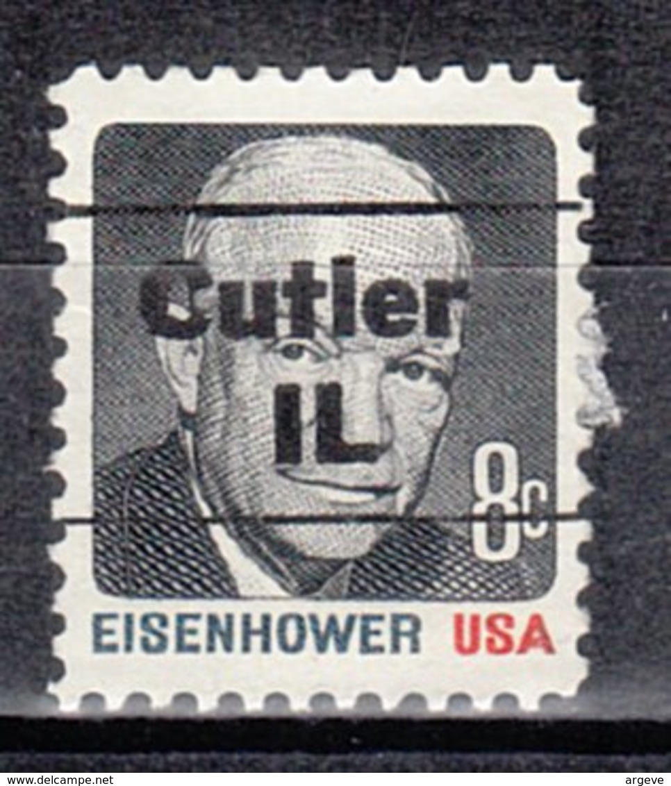 USA Precancel Vorausentwertung Preo, Locals Illinois, Cutler L-1 TS - Vereinigte Staaten