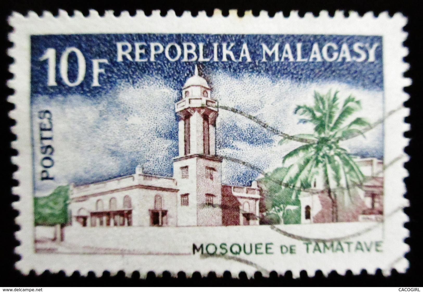 1965-67 MADAGASCAR YT 413, 432, 433 . Une Oblitération DIEGO SUAREZ - Madagascar (1960-...)