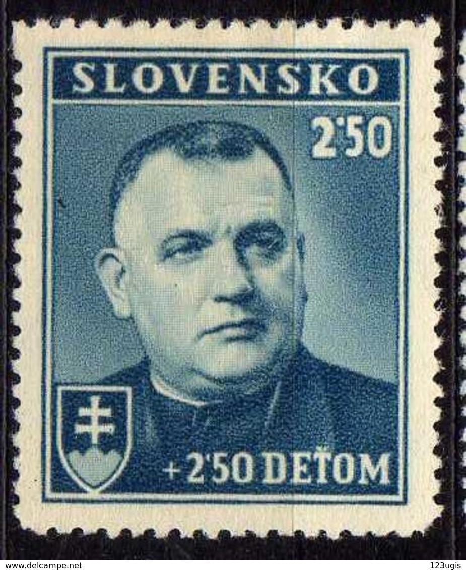Slowakei / Slovakia, 1939, Mi 69 * [240319XXIV] - Unused Stamps
