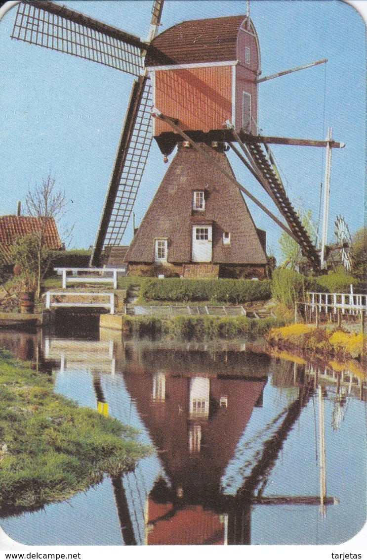 CALENDARIO DEL AÑO 1980 DE UN MOLINO-MILL-MOULIN (CALENDRIER-CALENDAR) - Calendarios