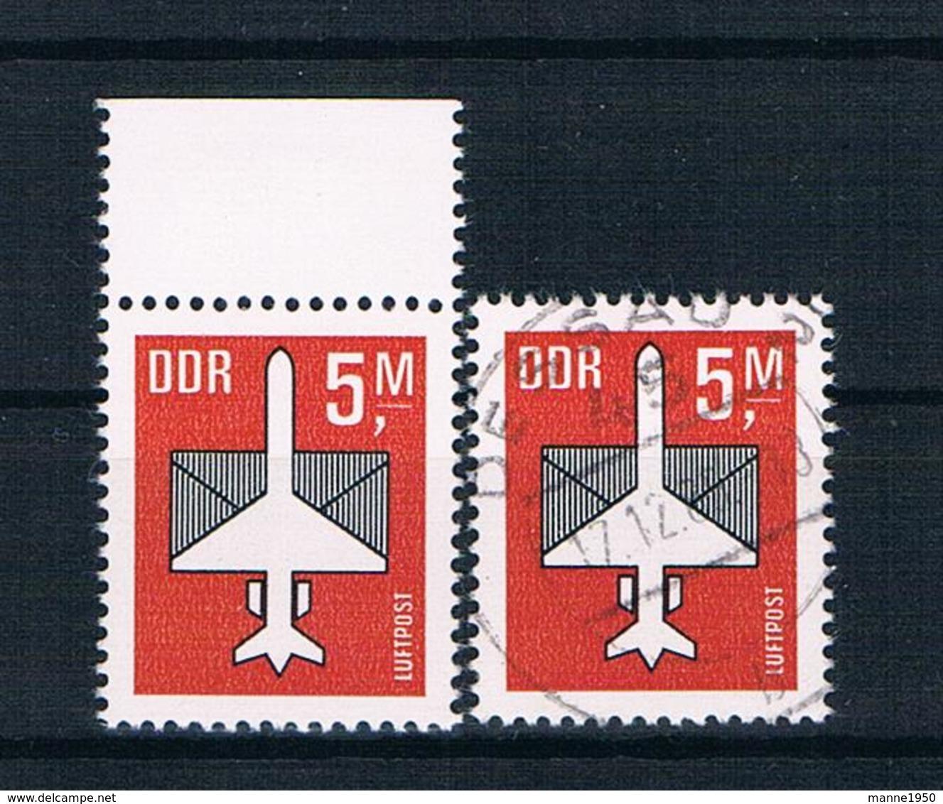 DDR 1985 Flugzeuge Mi.Nr. 2967 ** + Gestempelt - Neufs