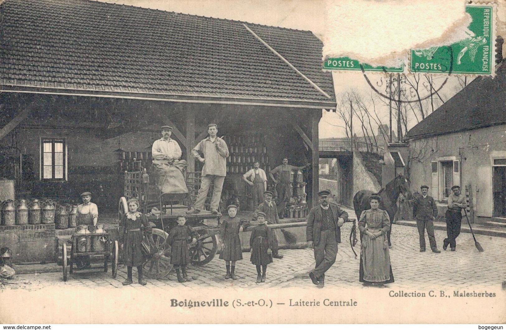 91 BOIGNEVILLE Laiterie Centrale - France