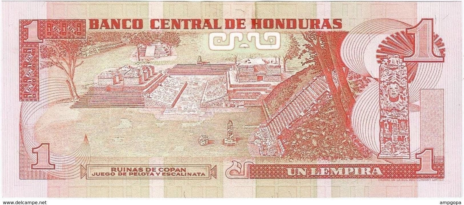 Honduras 1 Lempira 12-5-1994 Pk 76 A UNC - Honduras