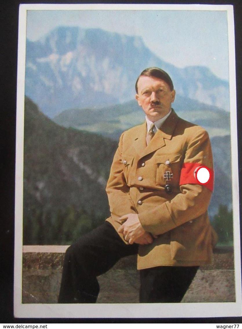 Postkarte Propaganda Hitler Obersalzberg Berghof - Erhaltung II - Deutschland
