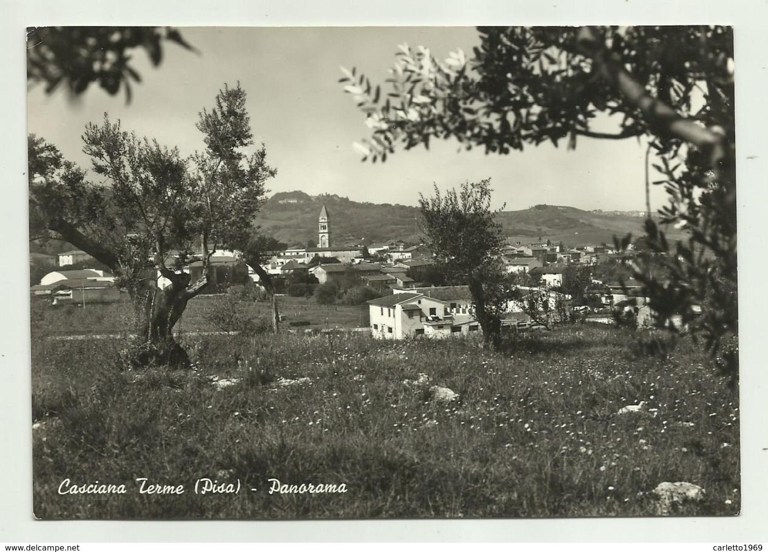 CASCIANA TERME ( PISA )- PANORAMA VIAGGIATA FG - Pisa