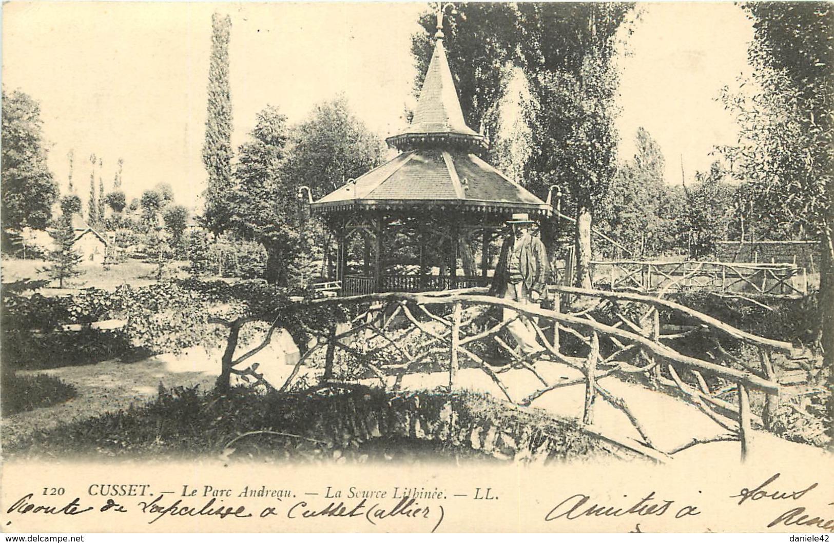 03 - CUSSET - Le Parc Andreau - La Source  Litbinée - Frankrijk