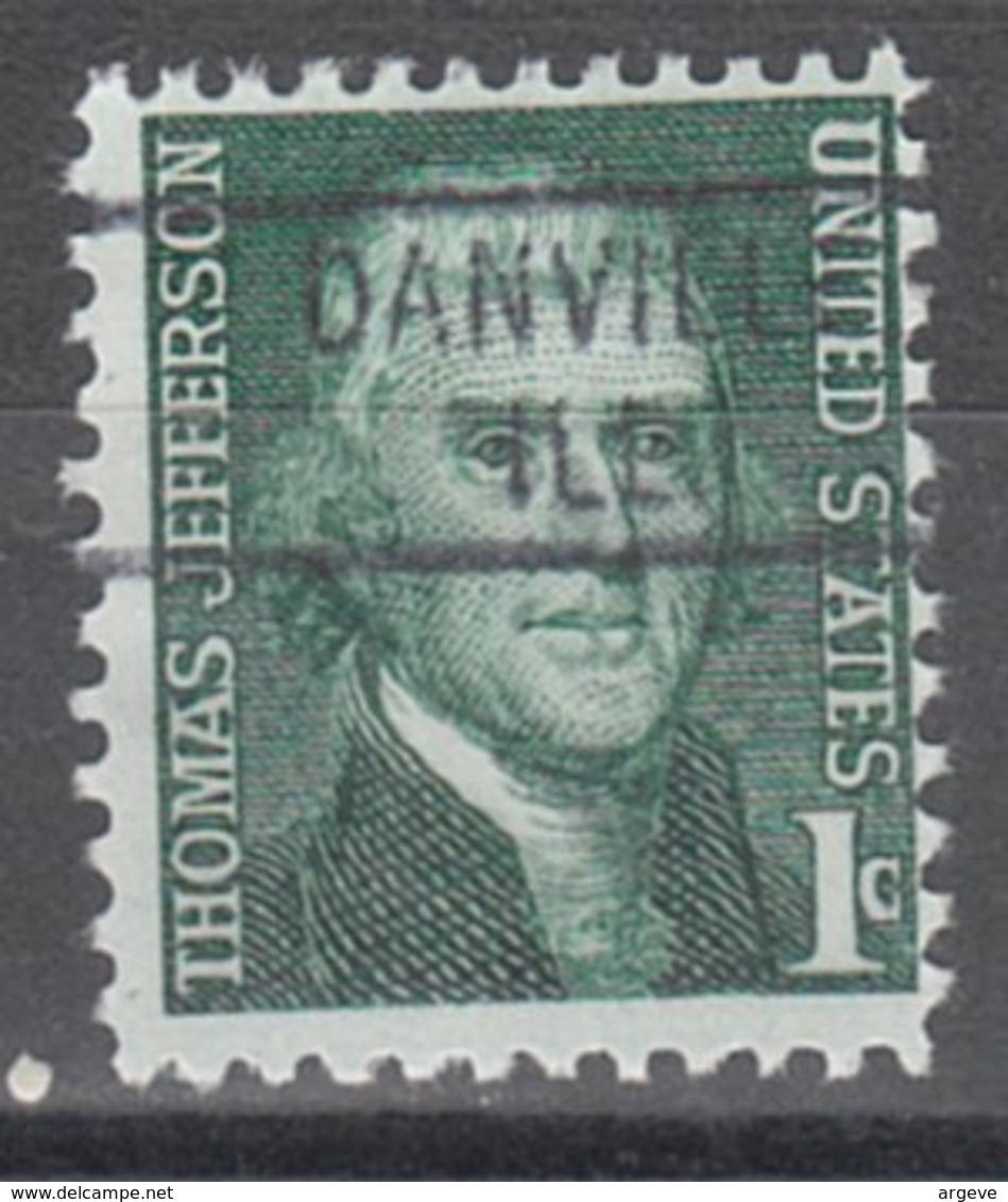 USA Precancel Vorausentwertung Preo, Locals Illinois, Danville 802 - Vereinigte Staaten
