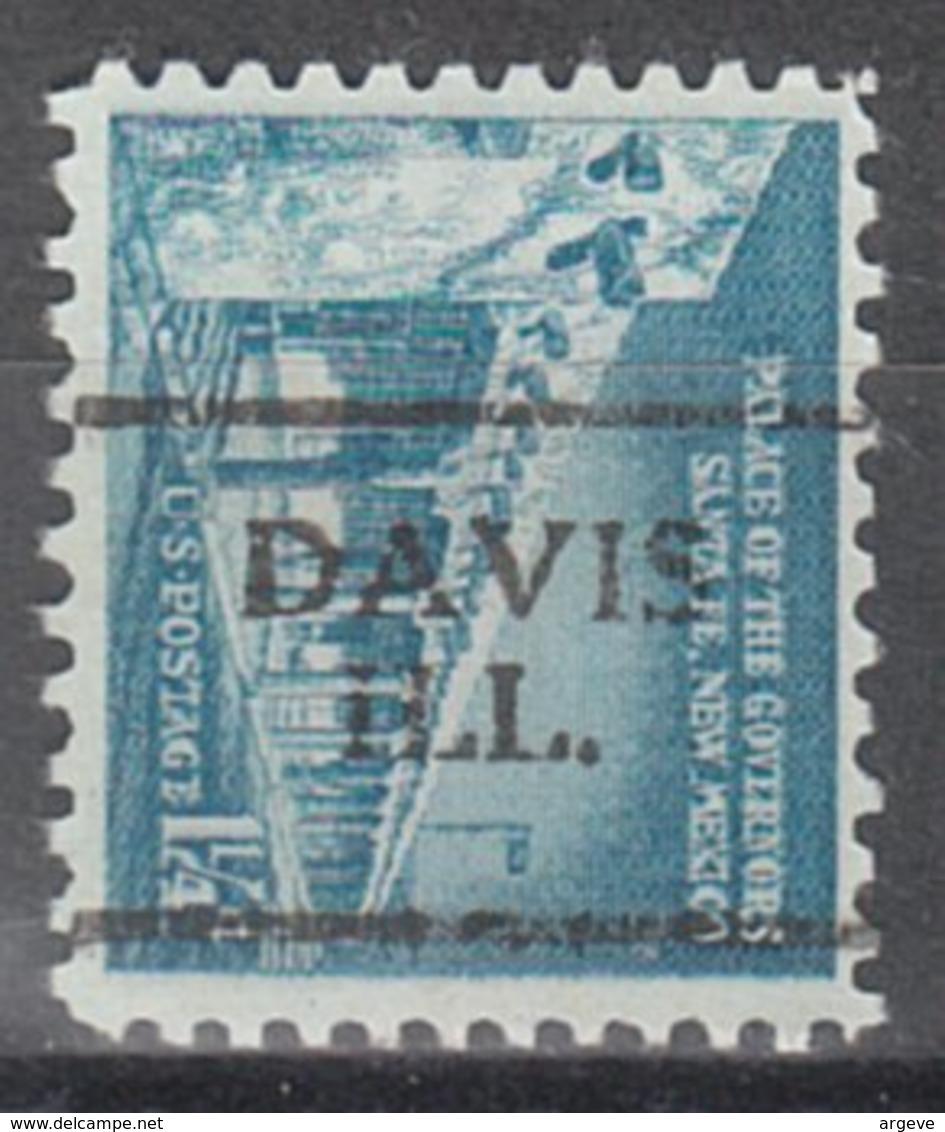 USA Precancel Vorausentwertung Preo, Locals Illinois, Davis 701 - Vereinigte Staaten