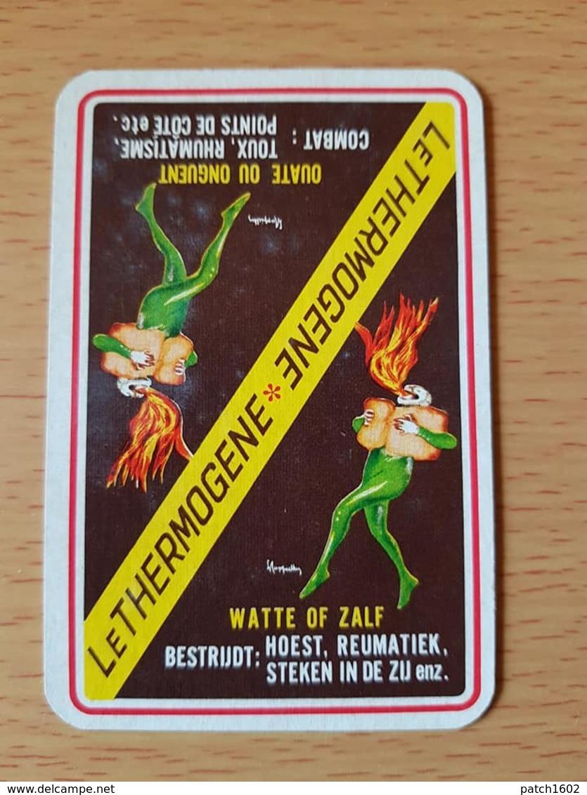Le Thermogene Une Carte à Jouer Jeu Cartes - Speelkaarten