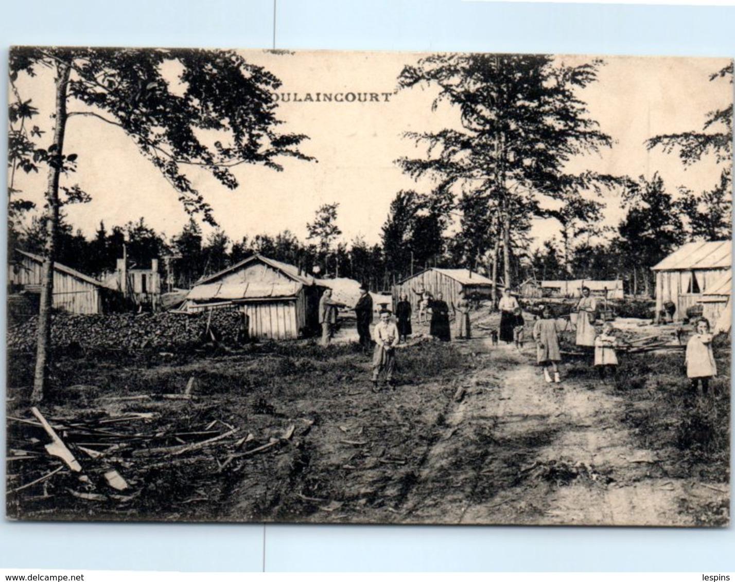 52 - DOULAINCOURT --  Vue D'une Scierie Installée à La Forêt D'Heu è N° 9 - Doulaincourt