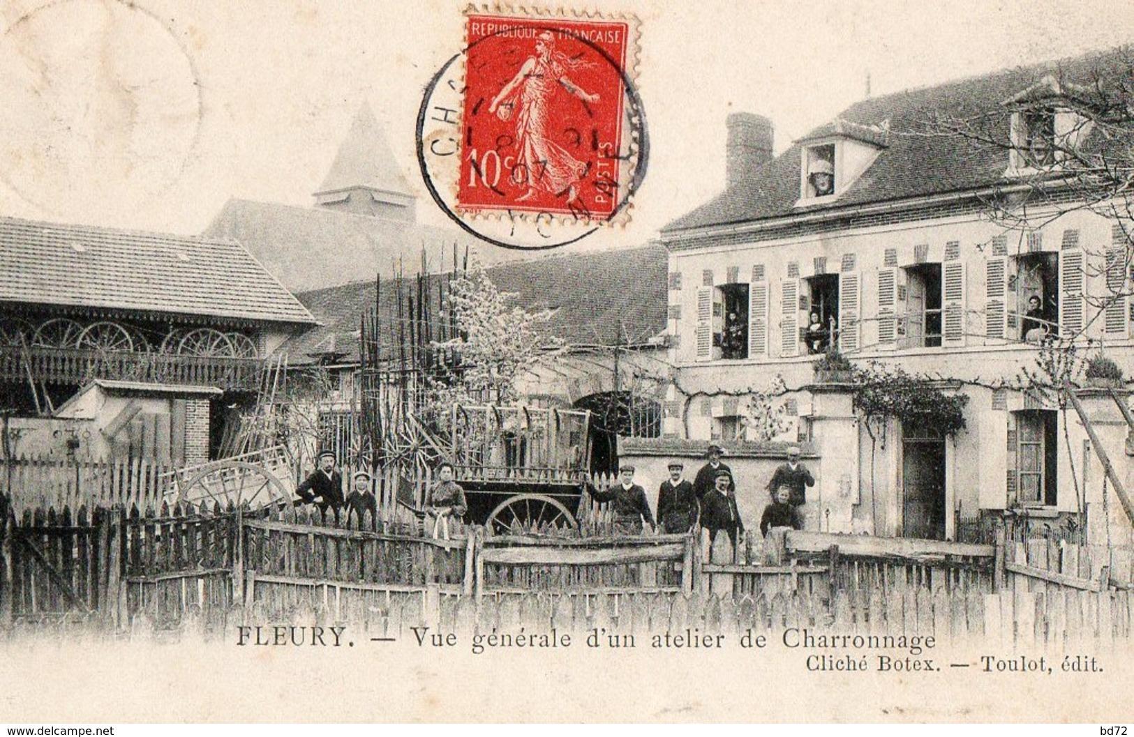 FLEURY, Atelier De Charronnage - Autres Communes