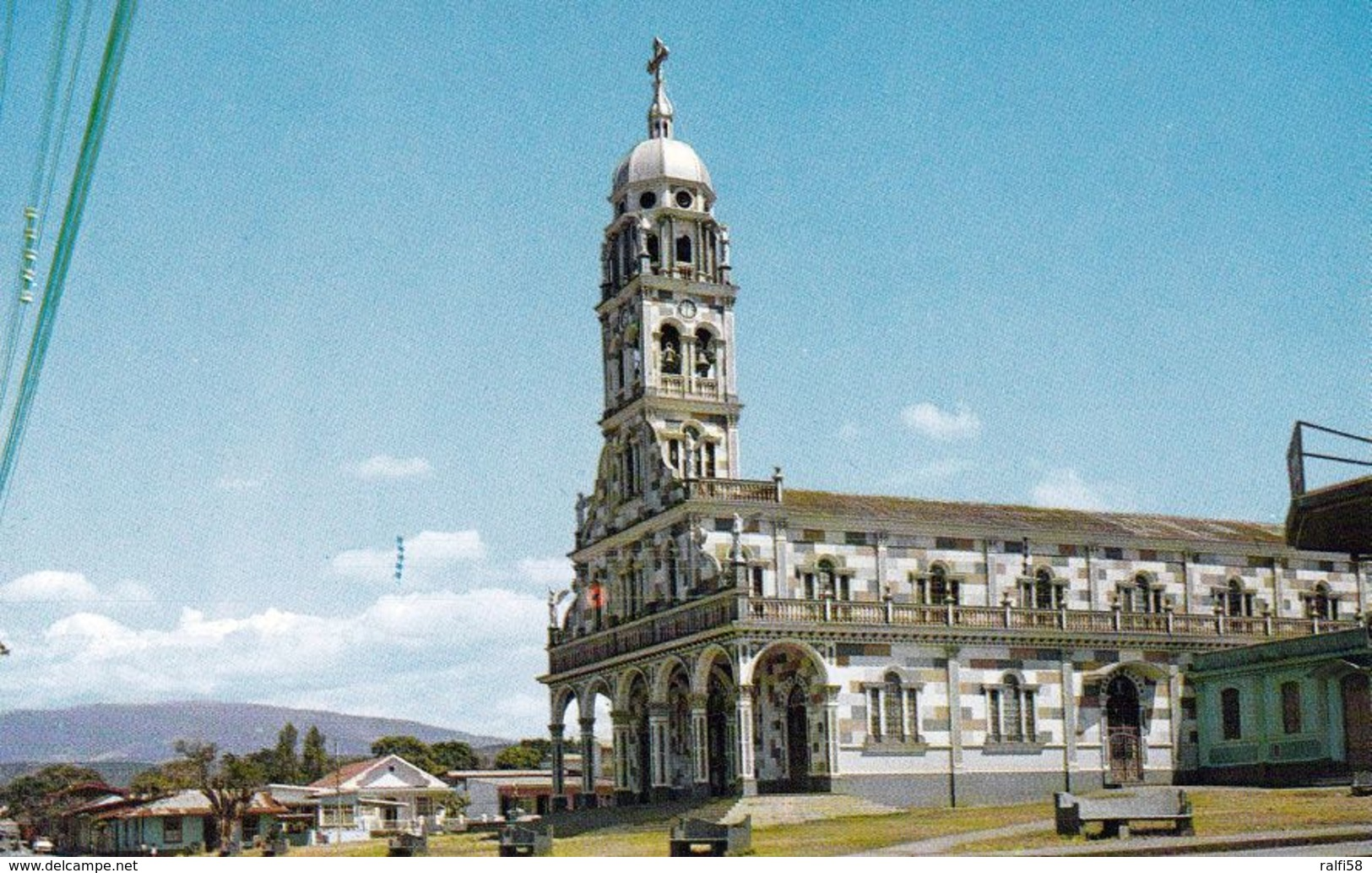 1AK * Costa Rica * Die Kirche La Agonia In Der Stadt Alajuela * - Costa Rica