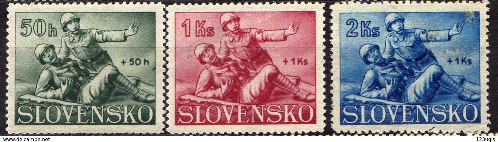 Slowakei / Slovakia, 1941, Mi 88-90 *  [060419XXV] - Unused Stamps