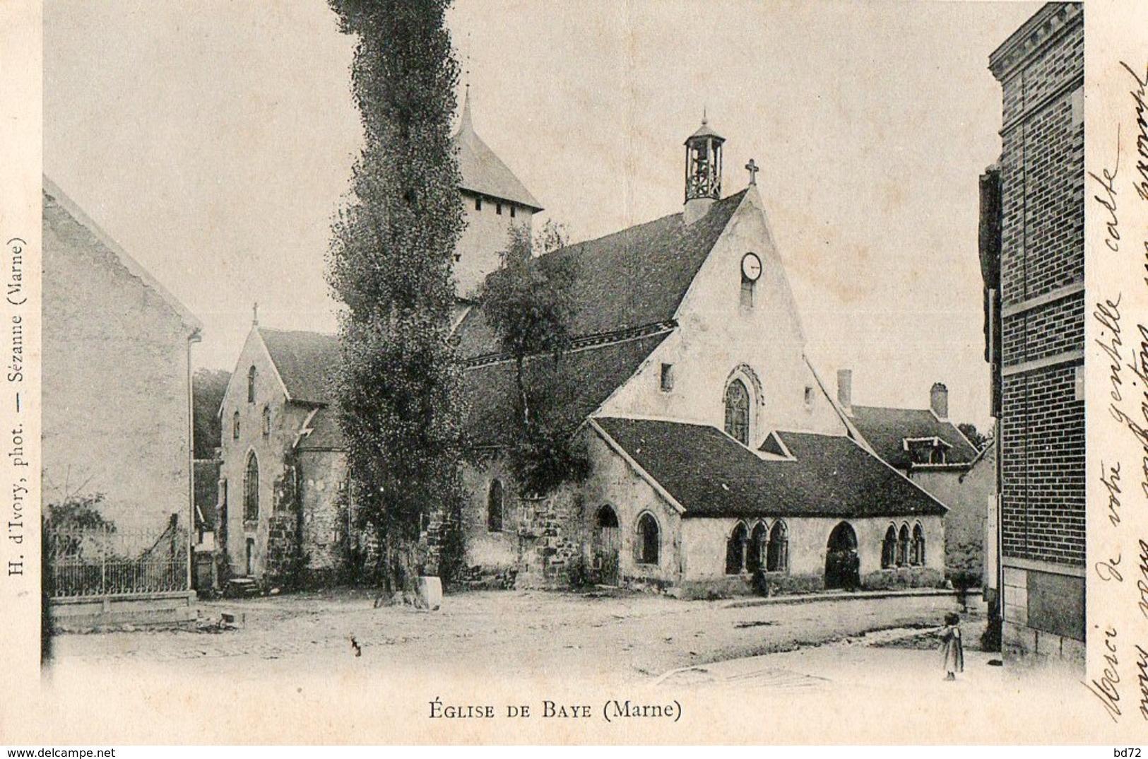 BAYE ( Marne ) - Frankrijk