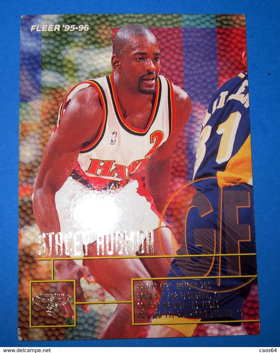 CARDS NBA FLEER 95-96 N 271 STACEY AUGMON - Altri