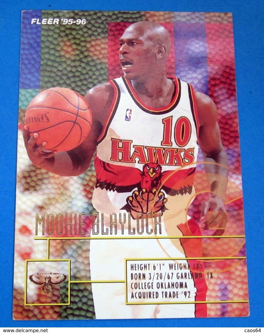 MOOKIE BLAYLOCK CARDS NBA FLEER 95-96 N 272 - Trading Cards