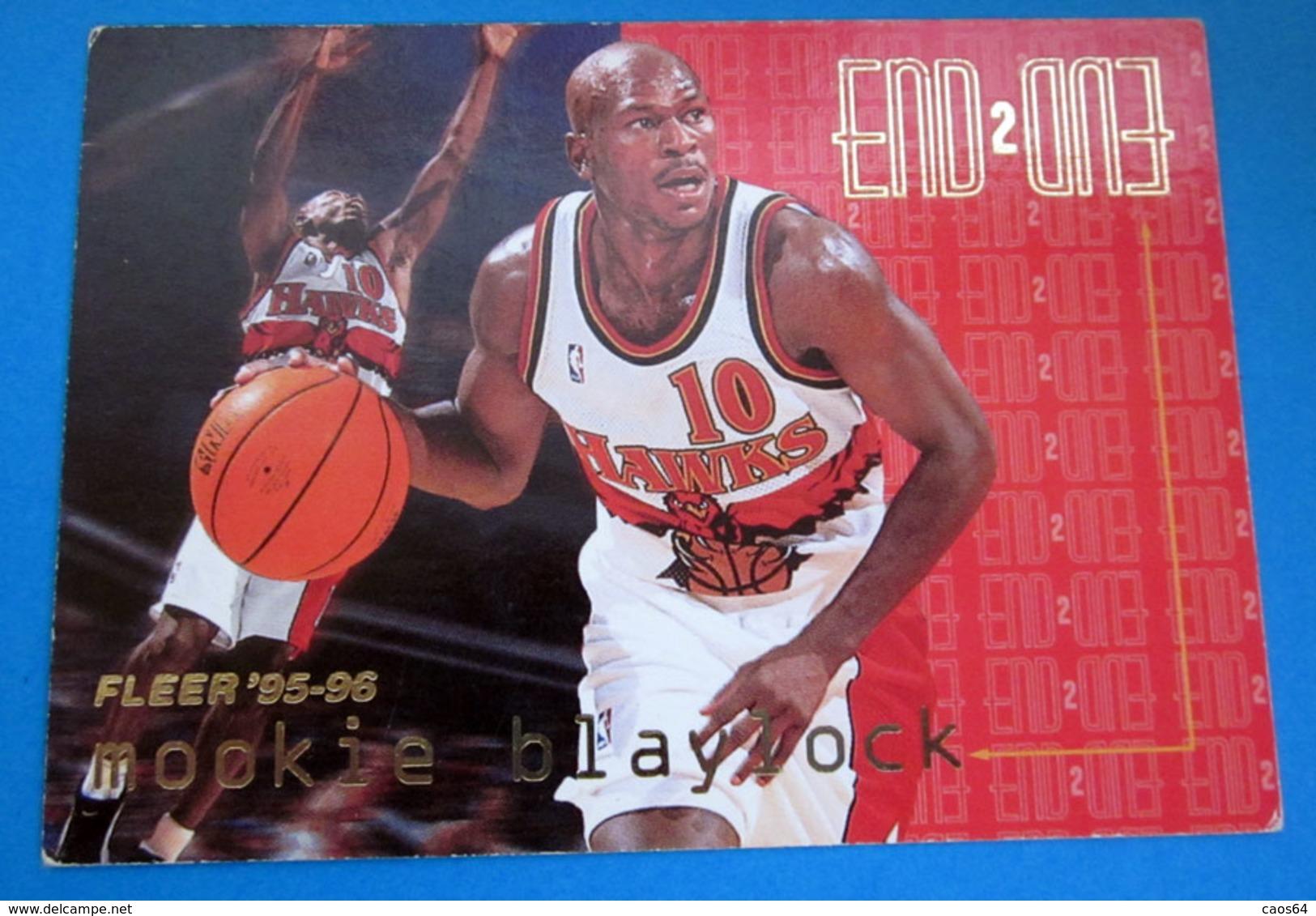 MOOKIE BLAYLOCK CARDS NBA FLEER 95-96 N 470 - Trading Cards