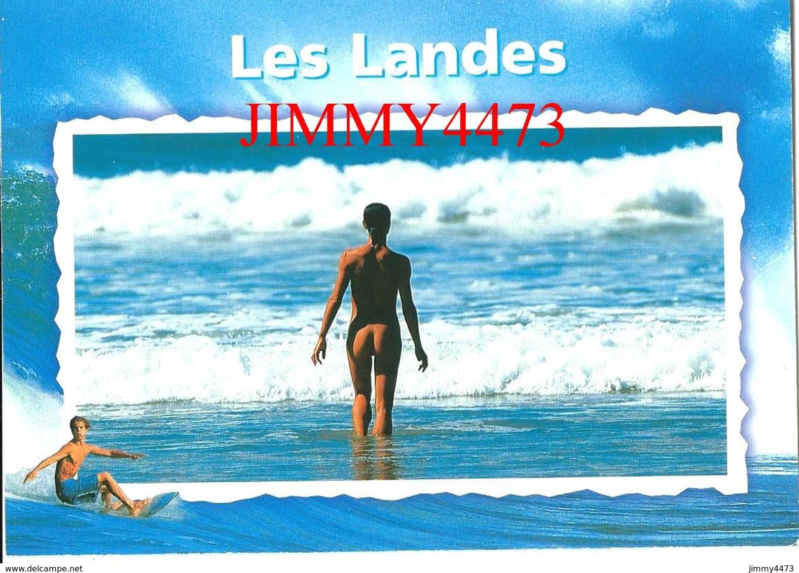 CPM -  FEMME NUE - LES LANDES 40 Landes - Scans Recto-Verso - Romantiques < 1960