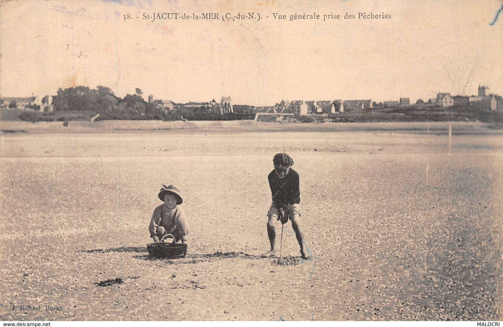 22-SAINT JACUT DE LA MER-N°1117-H/0335 - Saint-Jacut-de-la-Mer