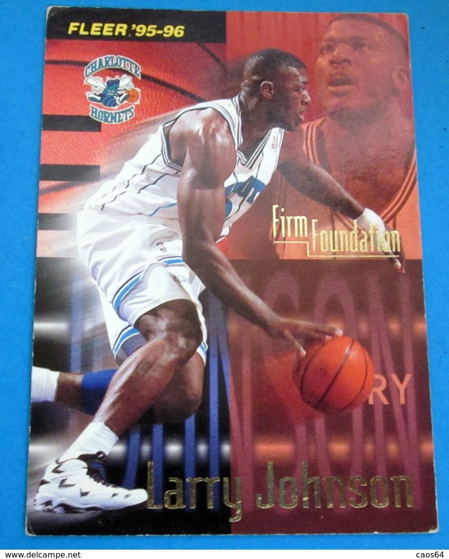 LARRY JOHNSON  CARDS NBA FLEER 1996 N 393 - Trading Cards
