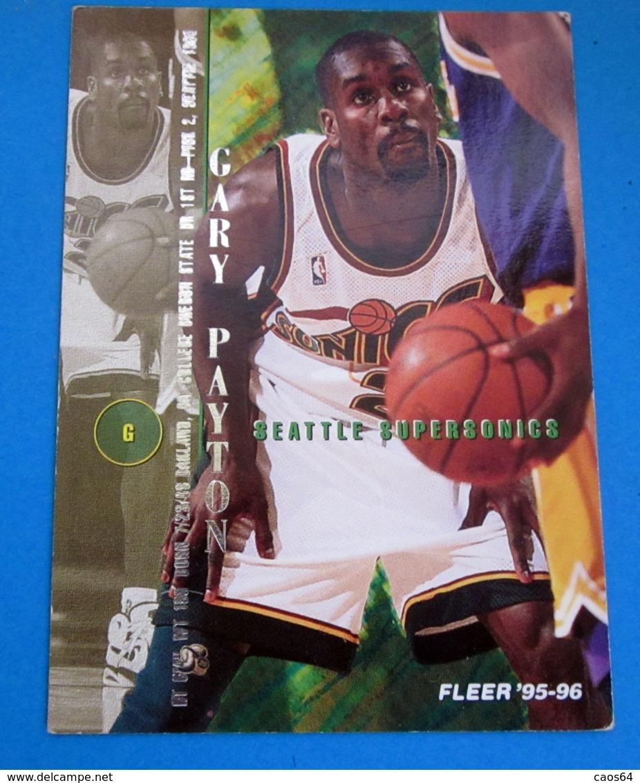 GARY PAYTON   CARDS NBA FLEER 1996 N 324 - Trading Cards